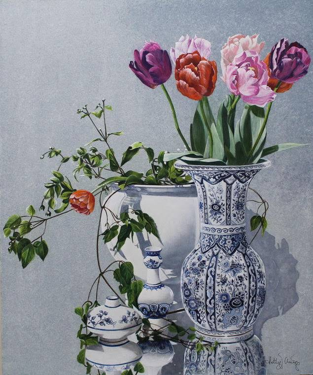 Delftware stilllife