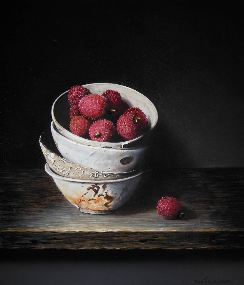 Vung Tau bowls with lychees