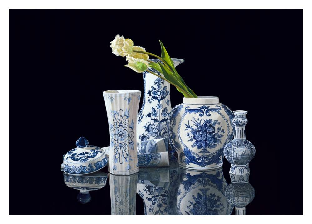 Rapsody in Delft Blue